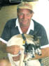 TRAGIC LOSS: Bruce Doman, 52, with fox terrier Mitzy.