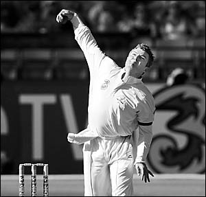 NSWleg spin bowler, Stuart MacGill.