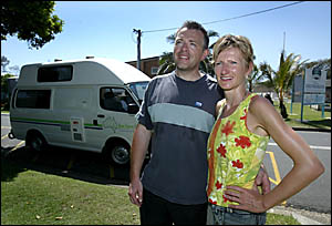 GERMAN tourists Dirk Buehler and Silke Arnold say the Tweed Coast would have no trouble attracting backpackers, but ultimately