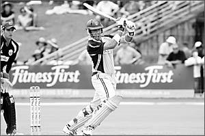 Aaron O?Brien scored 26 runs for NSW.