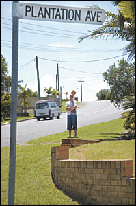 When a car ended up in his front yard last week, Matthew McBurney admits he wasn?t surprised.