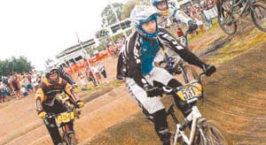 BMX officials are attempting to lure the New Zealand Olympic team to the city. Picture: supplied