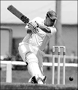 Diggers Ex-Services batsman, Brad Guthrie made only three as his side were dismissed for 91 against Coffs Hotel Tigers at Brels