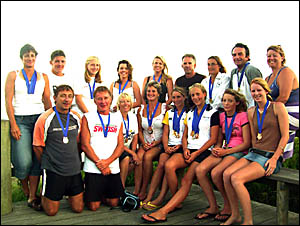 Sawtell Surf Life Saving Club?s successful competitors at the NSW Country titles which were held at Woolgoolga.