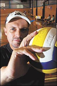 Former US pro volleyballer Stuart Jemeson . . . has returned to Australia and is now calling Coffs Harbour home.