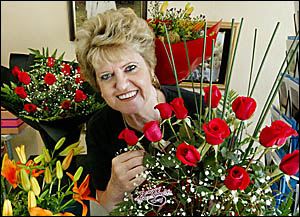 DEE Johnston knows as well as anyone what wins a girl?s heart on Valentine?s Day ? red roses.