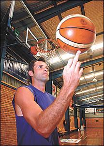 The Bellingen Valley Basketball Association?s new full-time development officer Alex Morgan-Lowe.