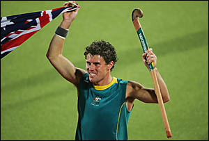 Brent Livermore after Australia?s historic gold-medal win in Athens.