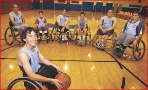 Josh Horner will play in the Australian under-20 wheelchair basketball team in New Zealand. Image: KATIE FINN