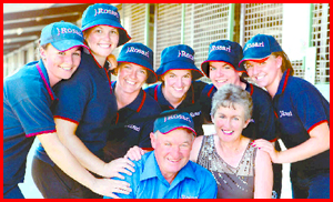 Warwick's Nolan family proves Magic Millions success is within reach of all who pursue it. Image: PETER WALLIS (Courier-Mail