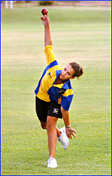 Emily Slatter is one of seven Gladstone district cricketers invited to trial for  the QAS regional cricket squad
