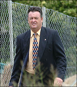 FORMER Tweed City CBA branch manager Graham Higgins, currently appearing in Lismore District Court on fraud charges.