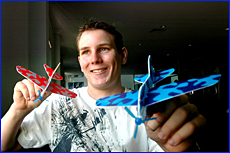 The sky is the limit for Gladstone Tutorial Centre success story Lance Taylor after being accepted into the airforce