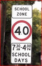Police are increasing patrols in school zones. Image: Debbie Druce