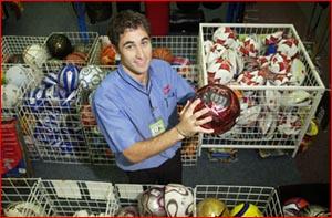 Raiders goalkeeper Michael Pike. Image: Kevin Farmer