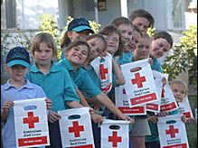 GRAFTON Girl Guides get behind Red Cross calling.