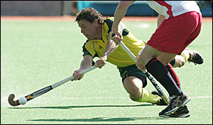 TWO-GOALGAME:Brent Livermore scored twice in yesterday?s 5-1 demolition of England in the Commonwealth Games hockey competition