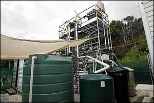 Desalination works at Kropp Park, Tugun.
