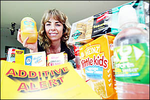 Julie Eady has become an advocate for healthy foods since researching food additives in an effort to protect her newborn dau