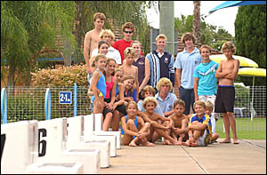 TERRIFICTEAM:The Grafton Swim Academy has a record 27 swimmers qualified to attend the NSW Swimming titles at the Sydney Aquati