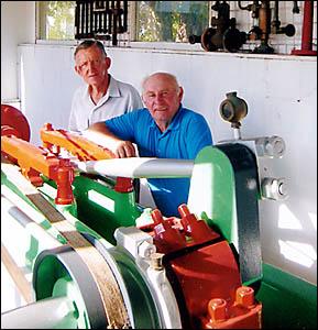 The Historical Society?s founder John Elliot and Bob Nancarrow.
