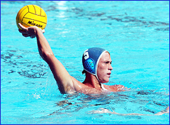 Queensland Water Polo player Billy Miller who hails from the Sunshine Coast.