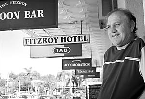 Warren Dean?s only regret about selling the Fitzroy Hotel is that he won?t be involved in its centenary celebrations. The ?Fitz