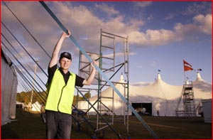 Isaac Moody, CEO of Toowoomba's AGMF, is gearing up for the biggest year in the festival's history.  Image: KEVIN FARMER