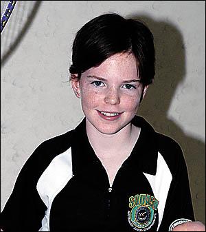 Squash player Tamika Saxby.