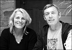 Bellingen Global Carnival founding organiser John Richards will be greatly missed. He is pictured here with his partner Bryony