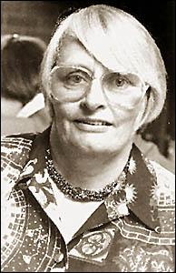Former Bellingen mayor Sue Dethridge, who died in 2003.