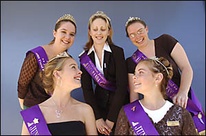GOOD TIMES: The official party for last year?s Grafton Jacaranda Festival. Nominations for this year?s queen title are being ta
