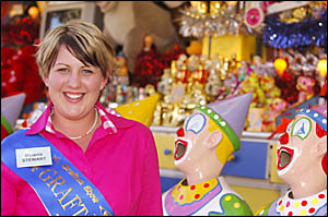 MUCH TO SEE: Grafton Showgirl Melanie Stewart takes a look at the attractions.