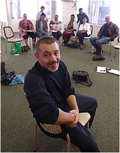 CULTURAL ATTACHE: Santiago Acera and other organisers of the Clarence Valley?s first Festival of the Five Senses put some finis