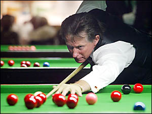 TWIN Towns Club champion John Hudson warms up for the Australian Masters Snooker Championships at Club Banora.    D97586