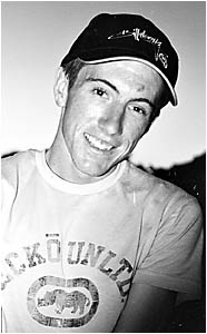 DRIVEN YOUNG MAN: The late Paddy McGuire, who lost his life in a tragic harvesting accident at Moree earlier this week.