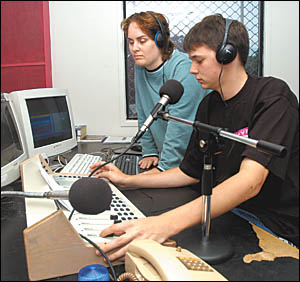 Liz Woodward and Ryan Baird are 2CHY-FM?s longest serving announcers. Liz first went on air in 1992. Ryan, a volunteer announce