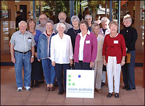 Talking Daily Examiner volunteers were honoured at the Grafton Community Centre yes- terday for their service.