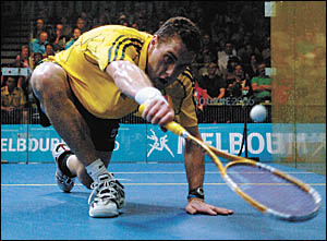 World number two squash player, David Palmer will play an exhibition match against Simon Carruthers at the Coffs Harbour Squash
