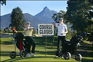 NO adults please this week at Murwillumbah as some of the leading juniors in NSW take to the course to participate in the