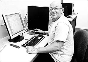 changed man scu legal and justice studies graduate larry valentine has put his criminal past - Larry Valentine