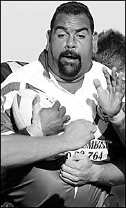 Macksville?s mentor, Paul Davis.
