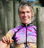 ROAD WARRIOR: Rockhampton cyclist Miles Olman.