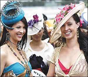 Beautiful women are a natural part of Coffs Cup day, so how do you introduce yourself without falling flat on your face.