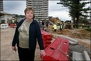 Friends of Burleigh secretary Irene Wareing has slammed the Gold Coast City Council?s latest construction drive which she says