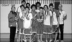 The Coffs Harbour Suns under-16 boys who are Northern Junior League premiers. Photo: PAULMURAT