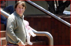 John Bernard Moloney leaves Toowoomba District Court.