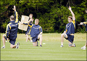 Hands up who wants to come back to Coffs? The Wallabies? training ground at Pacific Bay Resort will be unused for much of next