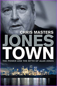 The cover of Chris Masters? book Jonestown, which was released yesterday.