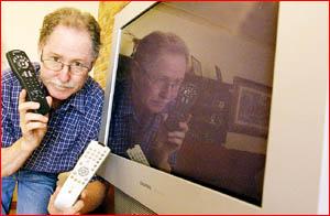 Chris Carson's appliances no longer work. Pic Debbie Druce